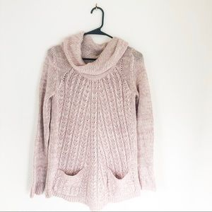 Anthropologie- Guinevere wool cowl neck sweater